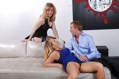 Nina Hartley is teaching..